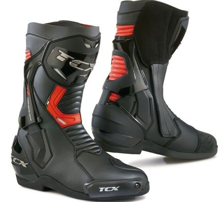 BUTY TCX ST-FIGHTER BLACK RED
