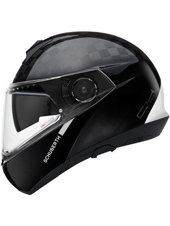 KASK SZCZĘKOWY Schuberth C4 PRO CARBON FUSION WHITE Limited Edition