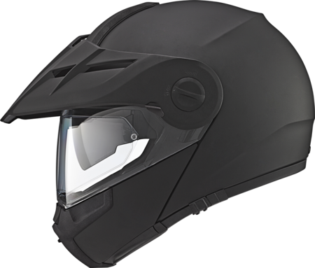 SCHUBERTH E1 MATT BLACK + INTERKOM SC10UA